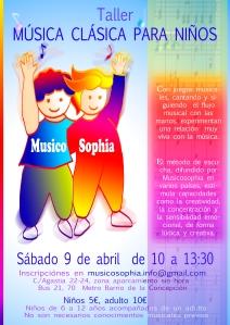 CARTEL NIÑOS MADRID abr16